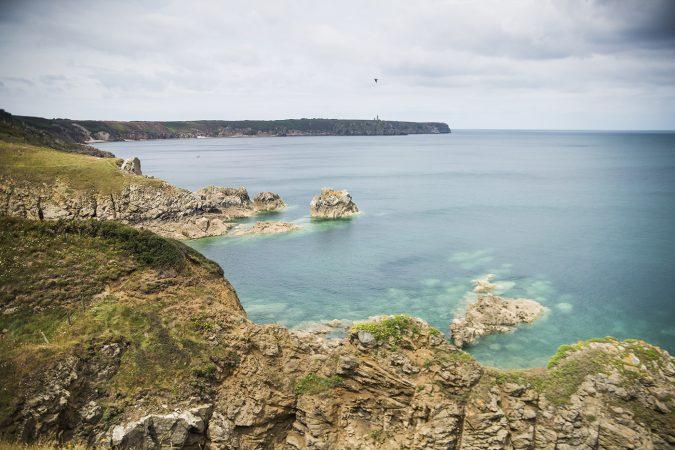 Klippor i Bretagne