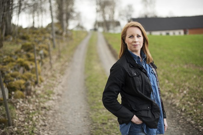 Foto på partiledaren Annie Lööf